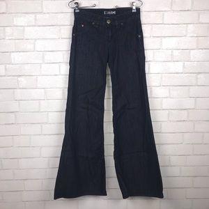 Hudson Wide Leg Flare Denim Trousers 25 N2025
